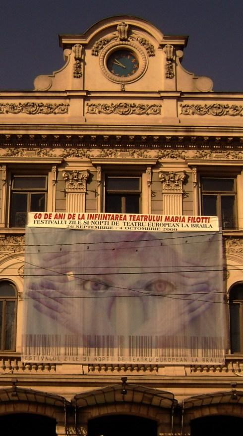 Zile şi nopţi de teatru european la Brăila